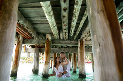 Beach Trash the Dress Photos in Isla Mujeres