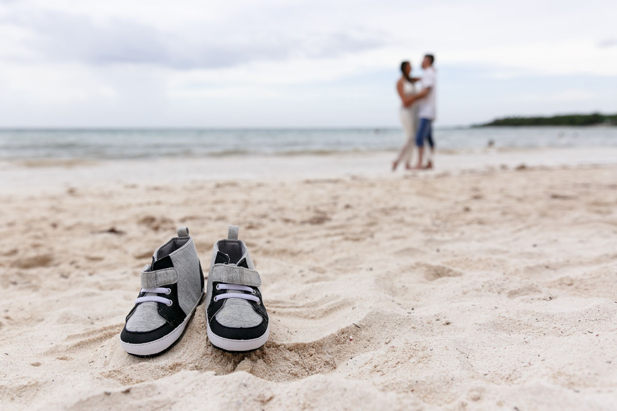 Maternity Photography in Playa del Carmen