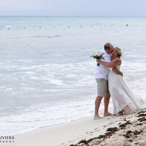 Ocean Riviera Paradise Wedding. Sarah & James