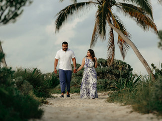 punta esmeralda couple session