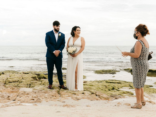 Playa del Carmen Elopement. Allie & Jack