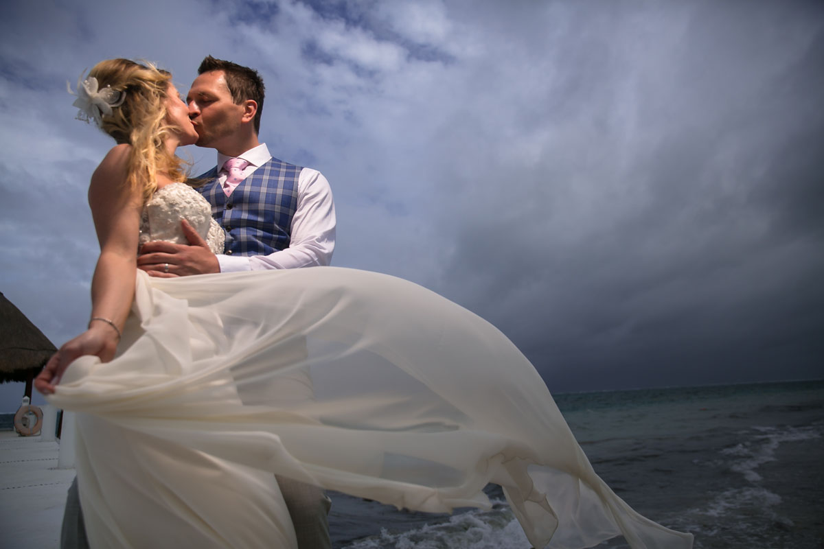 Excellence Riviera Cancun Wedding Photographer