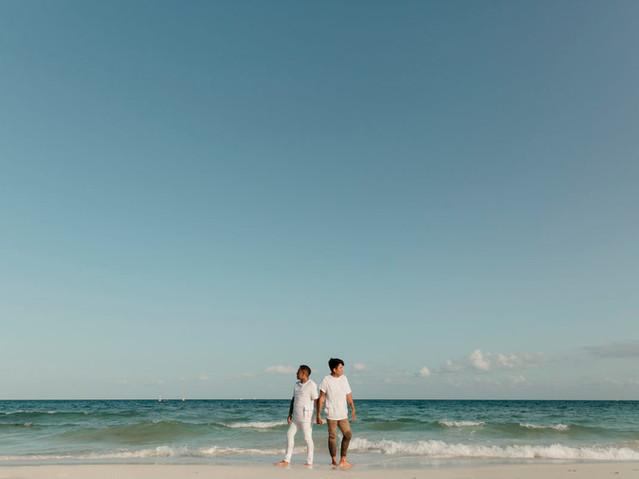 playa del carmen same sex engagement