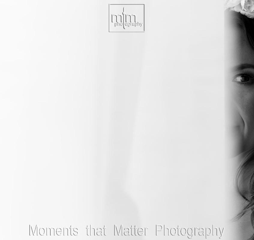 Black and white bride picture