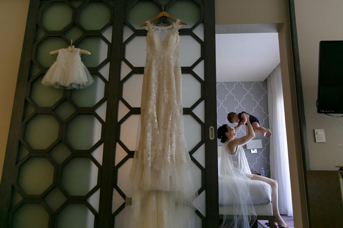 The Fives Azul Beach Wedding Photography