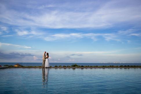 Secrets Playa Mujeres amazing wedding photography