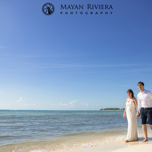Natalia & Damian. Unforgettable Honeymoon at Playa del Carmen.