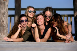 girls photo session