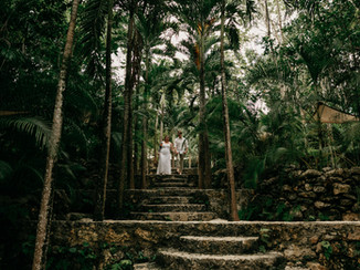 jungle wedding images