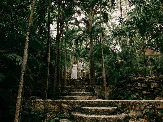 jungle wedding images