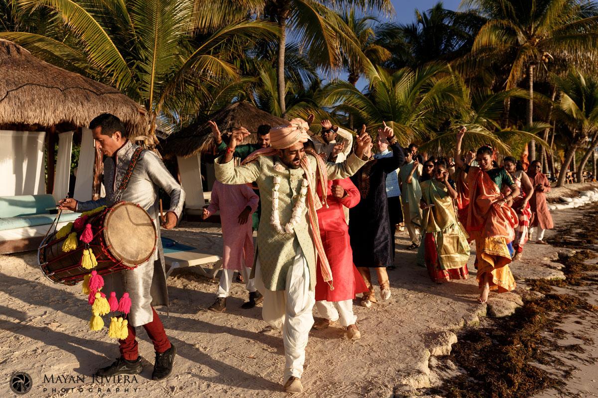 Azul Beach Riviera Cancun Hindu Wedding