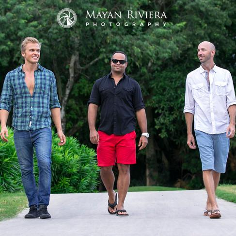 Tres Amigos. Men Portraits