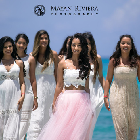 Navy's Bachelorette getaway in Cancun.