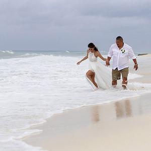 Azul Beach Wedding Couple