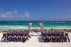 Barcelo Ceremony Set up photography
