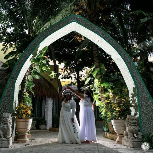 Generations Riviera Cancun Wedding. Tasha & Tasha