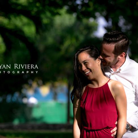 Jesse & Annie. Playa del Carmen Couple Photography.