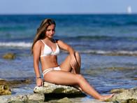 Quinceañera photo sessionon the beach