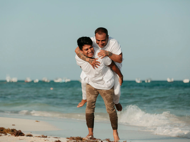 tulum gay photo session