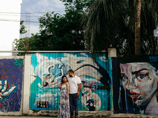 playa del carmen engagement photography