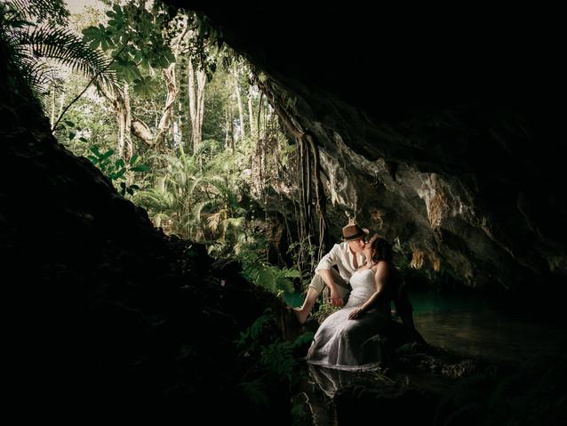 jungle dreams wedding photo session