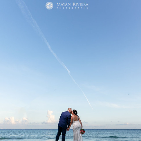 Sandos Playacar Wedding. Maria & Mark