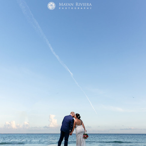 Sandos Playacar Wedding. Maria & Mark