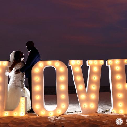 Royalton Riviera Cancun Resort & Spa. Shakia & Darnell