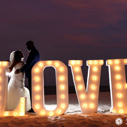 Royalton Riviera Cancun Resort & Spa. Shakia & Darnell