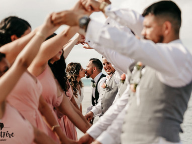 wedding party images