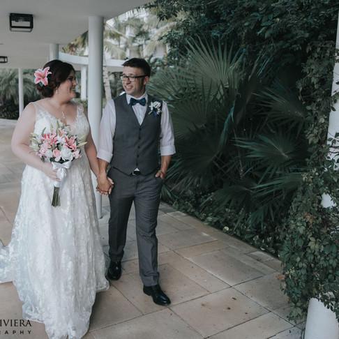 Ocean Riviera Paradise Wedding. Teri & Andrew