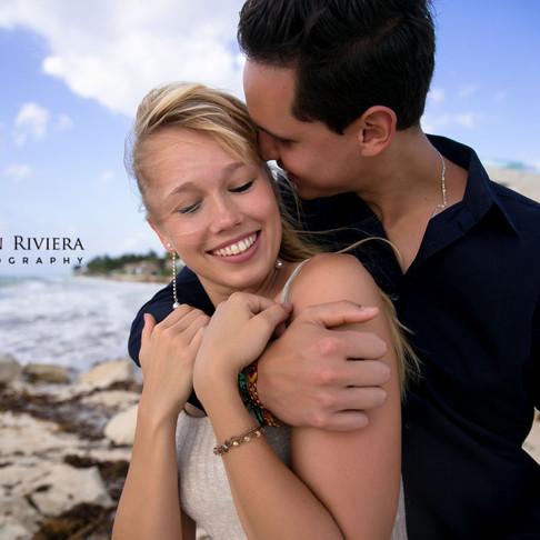 Anna & Omar. She said Yes, I do!!!