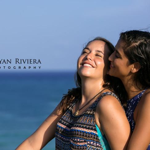 Valeria & Daniela. Tulum Adorable Surprise Proposal.