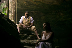 Couple Session in a cenote cave