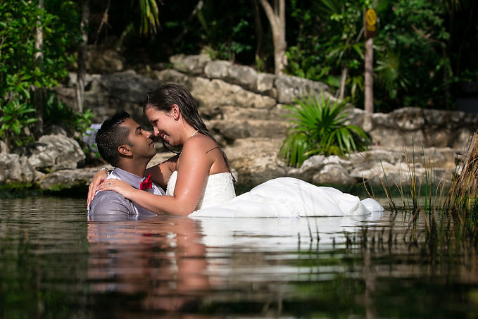 Best Trash the Dress Photographer in Cancun
