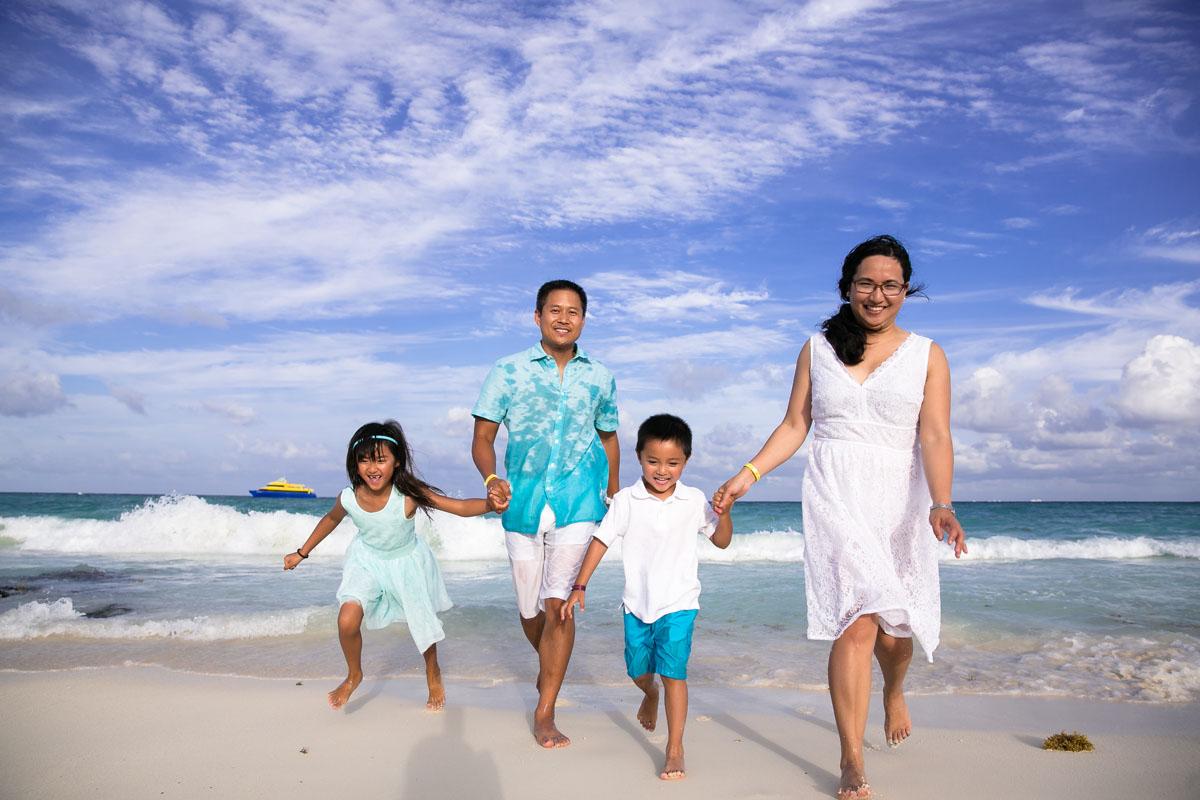 Playa del Carmen Family Photography