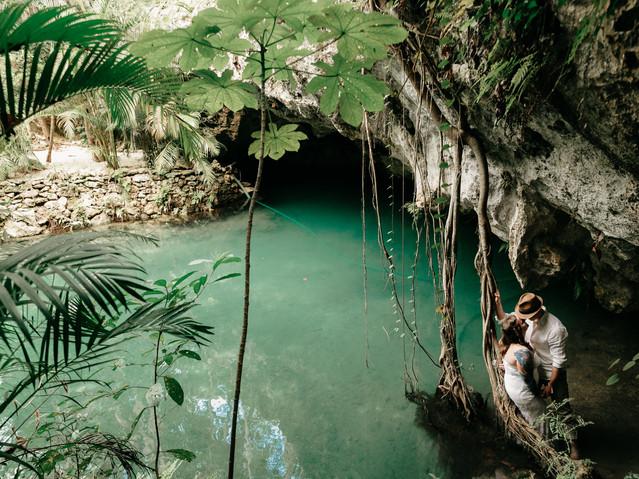 cenote jungle dreams photography