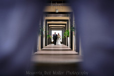 Walkway to the Royalton Riviera Cancun Sky Deck to get married