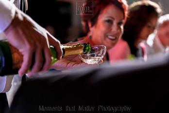 Reception drinks at Unico Riviera Maya