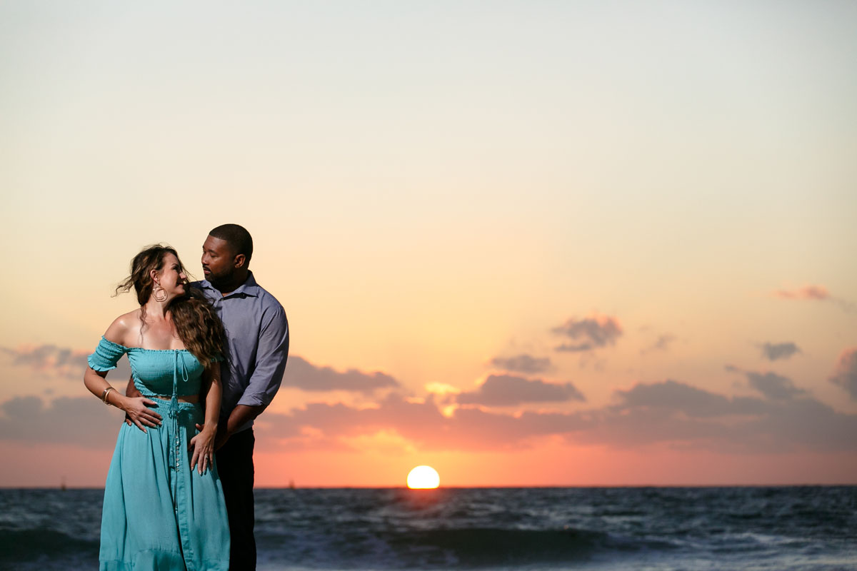 Sunrise photography Playa del Carmen