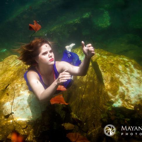Portrait Sessions at Cenote Chikin Ha