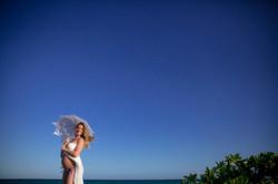 Beach Maternity Portrait
