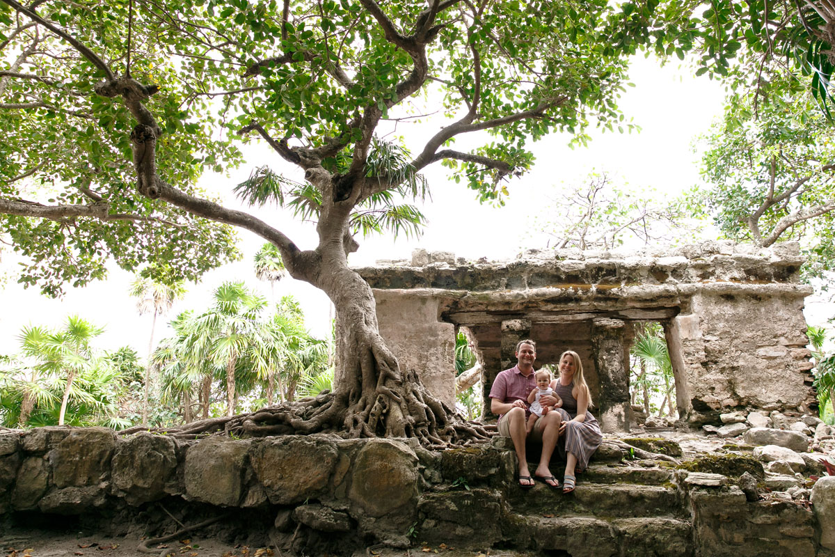 Mayan Riviera Family photography