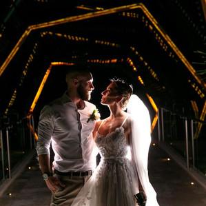 Bride and Groom Royalton Wedding Gazebo