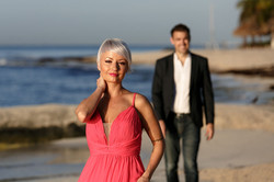 couple session on the beach