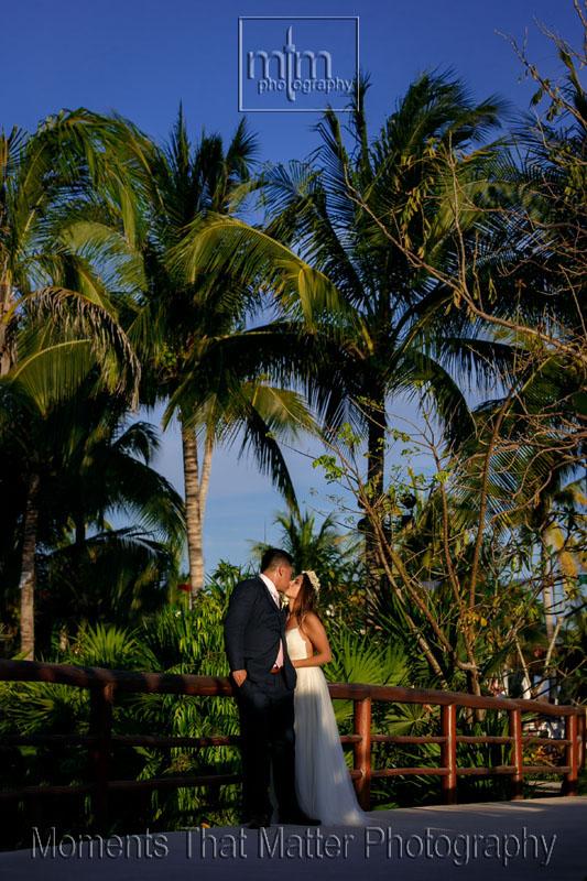Destination wedding perfection Secrets Akumal Riviera Maya Mexico!