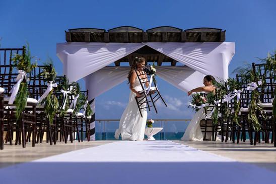 same sex bride and bride