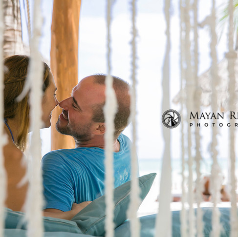 Lorena & Steffen. Couple Session at the little Gem Holbox Island.