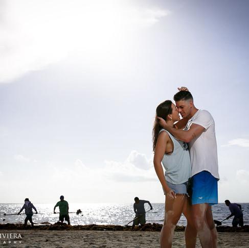 Alba & Francisco. Puerto Morelos.