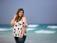 Senior Photo session on the beach
